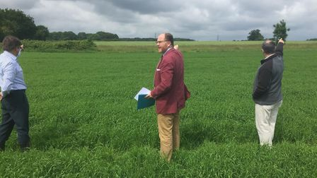 Mid Norfolk MP George Freeman has met with councillors, campaigners and landowners in the area set t