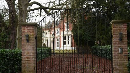 Ashwellthorpe Hall. Plans to demolish offices and build retirement homes nearby have been refused. P