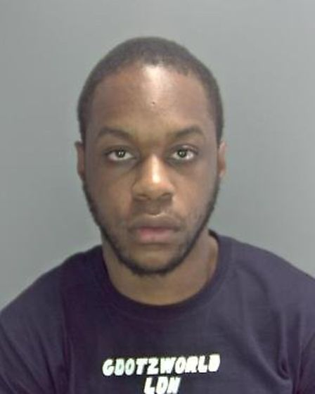 Kylann Grannum has been jailed for five years and four months. Picture Norfolk Constabulary.
