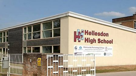 Hellesdon High School has been closed due to a gas leak. Picture: Archant