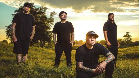 P.O.D. are bringing their Full Circle tour to Norwich with Alien Ant Farm. Photo: Kevin Baldes