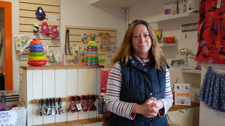Gayle Cross, the owner of Marmalade's Children's Clothing in Anglia Square. Picture: Archant