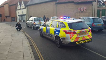 Police are now on the scene. Picture: Archant