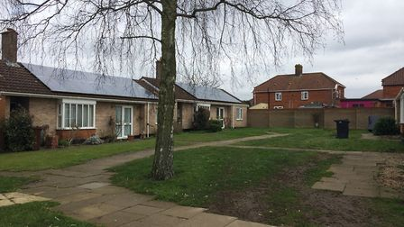 Bungalows in Northfield Gardens, a tight-knit community embroiled in years of parking disputes. PHOT