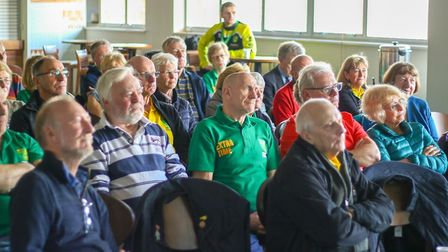 Members of the Local Recall project spoke to Extra Time, a group set up by the Norwich City Sports F
