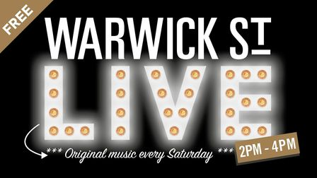 The Warwick St Social LIVE event takes place every Saturday from 2pm-4pm. Photo: Supplied by James W