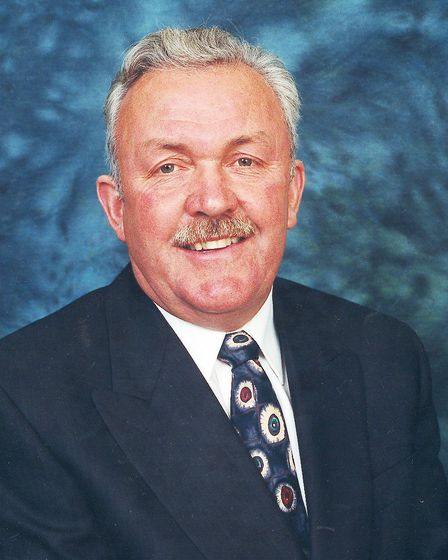 Breckland councillor Keith Martin.<For library files...picture supplied by Breckland Council...conta
