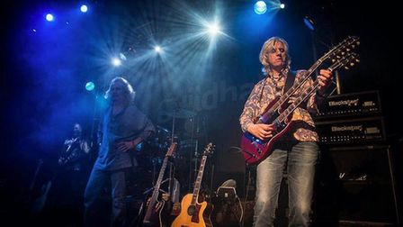 Led Zeppelin tribute band Whole Lotta Led who headlined The Waterfront in Norwich. Photo: Richard Ol