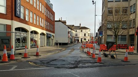 St Vedast Street in Norwich has reopened. Photo: @CastleMall