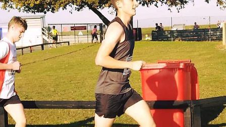 Ben Ling is in training to run the London Marathon in memory of his dad Clive Ling for BBRF. PHOTO: