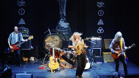Led Zepplin tribute band Whole Lotta Led who headlined The Waterfront in Norwich. Photo: David J Pym