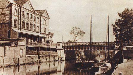 Foundry Bridge and the Great Eastern Hotel