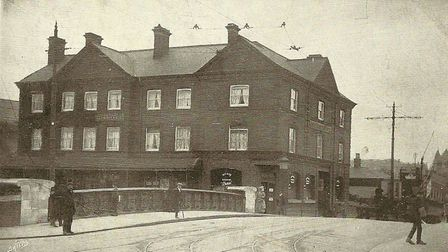 Vernon Castle honour. Pictured: The Great Eastern Hotel, Norwich. Picture: Philip Yaxley Collection