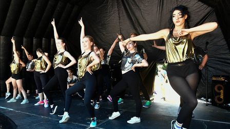 Passion Productions performing at Norwich Pride. Picture: David Cleverdon