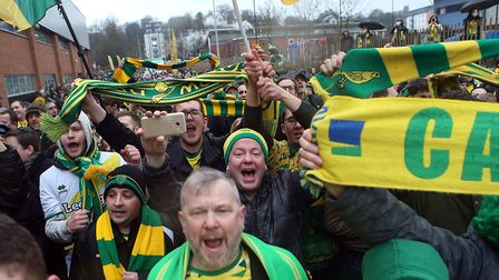Norwich City fans are being urged to turn Carrow Road into a cauldron of noise as the first of the f