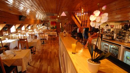 The interior of the floating restaurant in 2007, when it was Thai on the River. Photo: Paul Hewitt