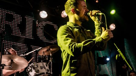 Maverick Sabre headlining Epic Studios in Norwich. Photo: Paul Jones