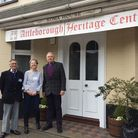Steve Allington, Carole Rowles, and George Ridgway are volunteers looking for a new home for Attlebo