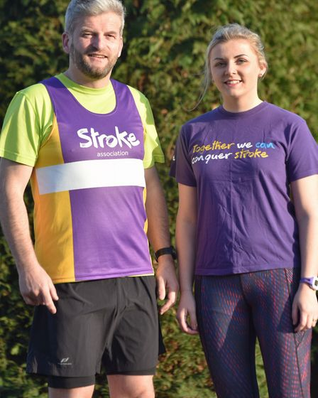 Mike Jolly is running the London Marathin in aid of the Stroke Association after suffering a stroke