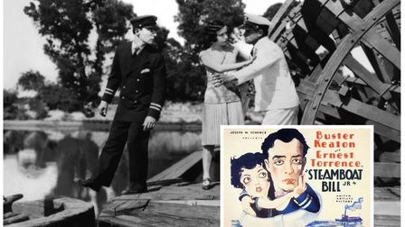 The pop-up cinema at the Reindeer pub in Norwich will screensilent comedies including Steamboat Bill