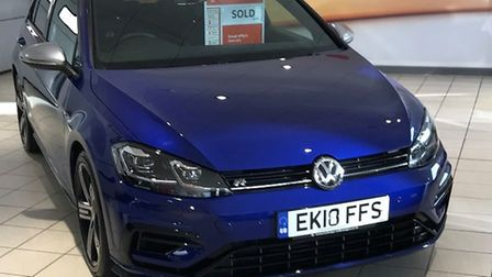 A Golf R has been stolen from a property in Norwich. Picture: Norfolk Police