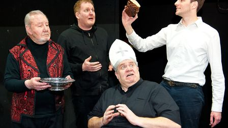 Faustus. Picture: Supplied by Sewell Barn Theatre