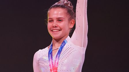 Annie Young claimed top spot at last weekend's Artistic British Championships. Picture: Alan Edwards