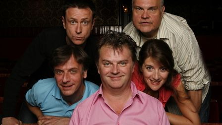 Paul Merton & Impro Chums. Photo: Supplied by Norwich Theatre Royal