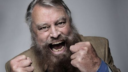 Brian Blessed. Photo: Supplied by Norwich Theatre Royal