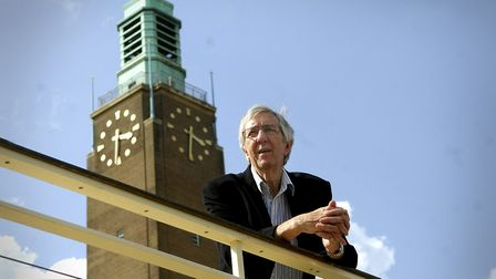 Roy Blower who retired from political life. Picture: Archant