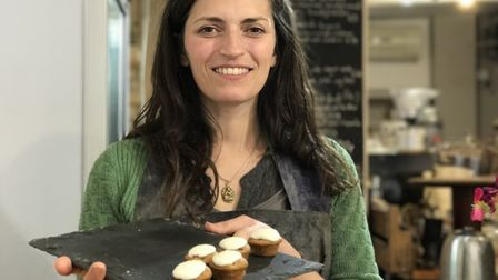 Cata Parrish, Director at Re-Source, a new zero waste general store and cafe on Timberhill in Norwi