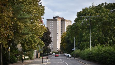Normandie Tower, Rouen Road, Norwich. Picture : ANTONY KELLY