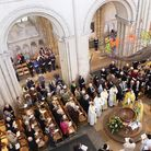 Easter Sunday at Norwich Cathedral Credit: Paul Hurst