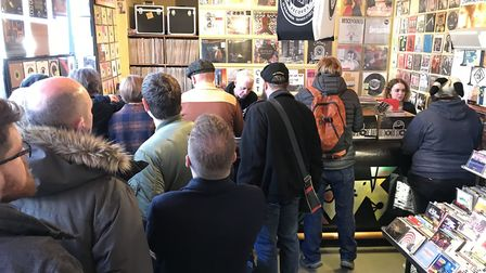 Soundclash Records opened their doors at 8am on Saturday morning for National Record Store Day but t