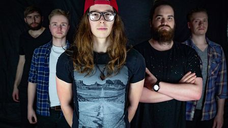 Norwich-based rock band Blind Tiger. Picture: Supplied by Blind Tiger