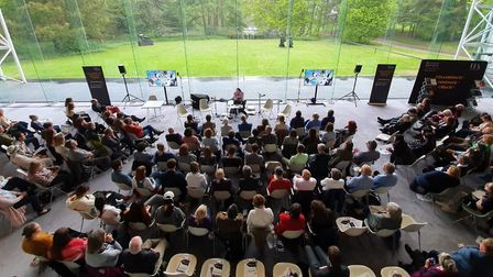 BBC Radio 4, Today programme broadcasting live from the University of East Anglia. Picture: UEA
