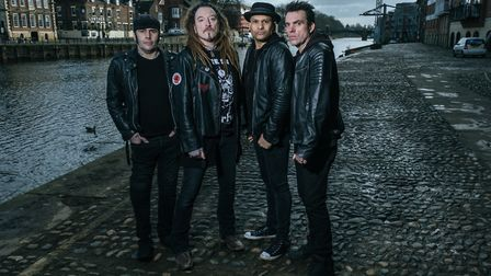The Wildhearts. Picture: Tony Woolliscroft