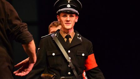 The Norfolk Youth Music Theatre perform The Sound of Music at the Norwich Playhouse. Photo: Josh Ora