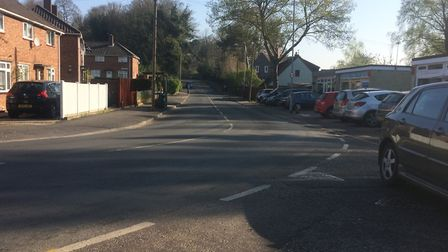 Amy Myers said drivers often don't realise how sharp the bend on the road is. Picture: Staff