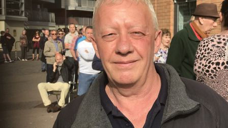 Glen Altham left his home in Lowestoft at 6.15am to try and get tickets for Norwich City last home g