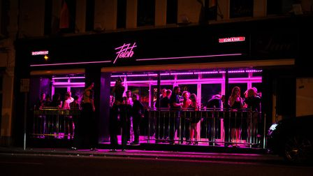 The new Fetch nightclub on Prince of Wales Road in Norwich. Picture Harry Rutter.