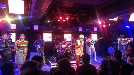 Reggae Legends at The Waterfront in Norwich. Picture: David Warman