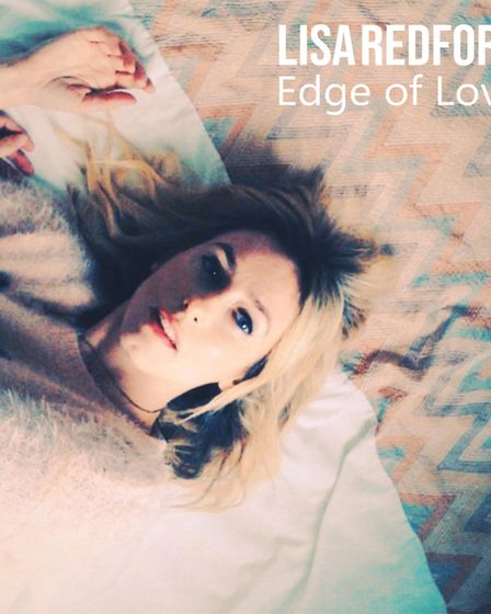 Norwich singer-songwriter Lisa Redford's EP Edge of Love. Picture: Supplied by Lisa Redford