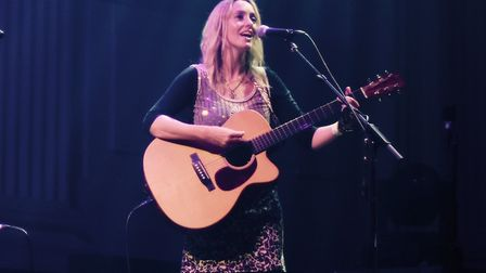 Lisa Redford will celebrate her new EP Edge of Love with a launch gig in Norwich. Picture: Supplied