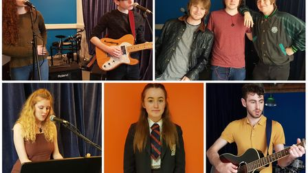Leon O'Leary, The Renadeans, Bridget Holmes, Hannah Birtwell and Solomon Lake who will perform at th