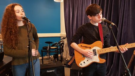 Leon O'Leary who will perform at the Unsigned event at The Waterfont in Norwich. Picture: Supplied b