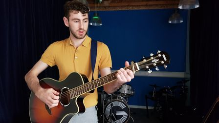Solomon Lake who will perform at the Unsigned event at The Waterfont in Norwich. Picture: Supplied b