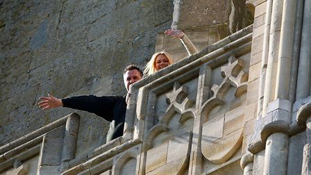 Wildlife photographer Chris Skipper proposed to his girlfriend, Kim Paul, in the bell tower of Norwi