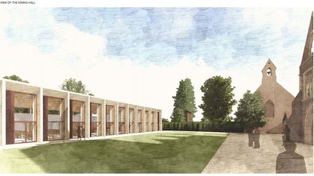 Norwich School has submitted plans for new facilities and landscaping at its site in the Cathedral's