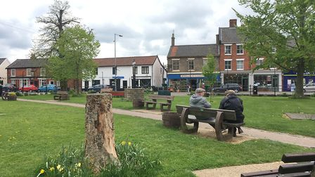 Queen's Square, Attleborough. Photo: Bethany Wales